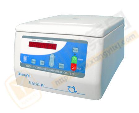 H1650-W 台式微量高速离心机